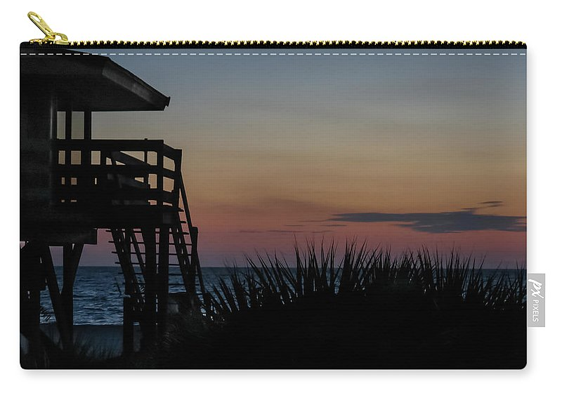 Florida Carry-all Pouch featuring the photograph Sunset by Jane Luxton
