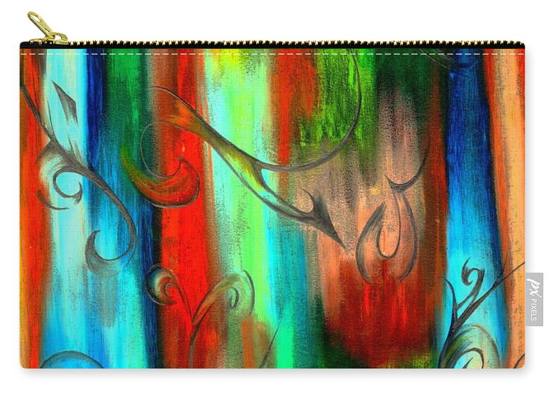 Abstract Carry-all Pouch featuring the photograph Sweet Dreams by Artist RiA