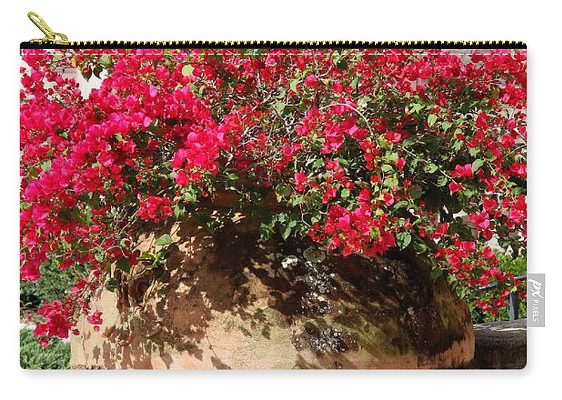 Teracotta Pot Carry-all Pouch featuring the photograph Terracotta Pot by Christiane Schulze Art And Photography