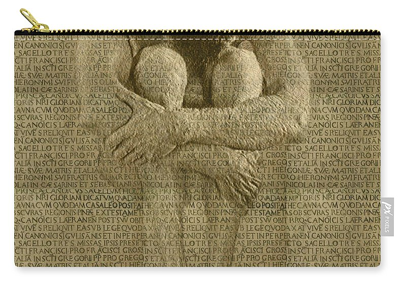 Nudes Carry-all Pouch featuring the photograph The Artist by Kurt Van Wagner