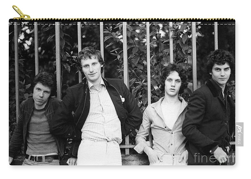 The Carry-all Pouch featuring the photograph The Boyfriends by David Fowler