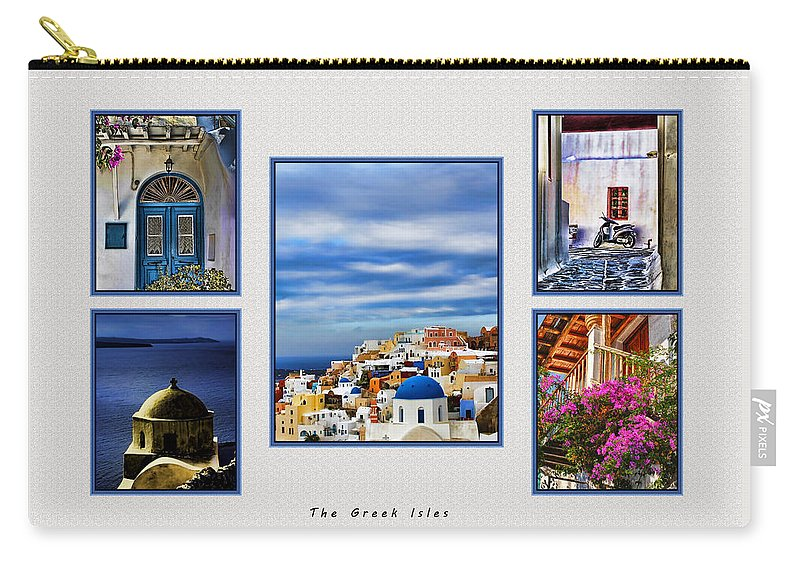 Europe Carry-all Pouch featuring the photograph The Greek Isles by Tom Prendergast
