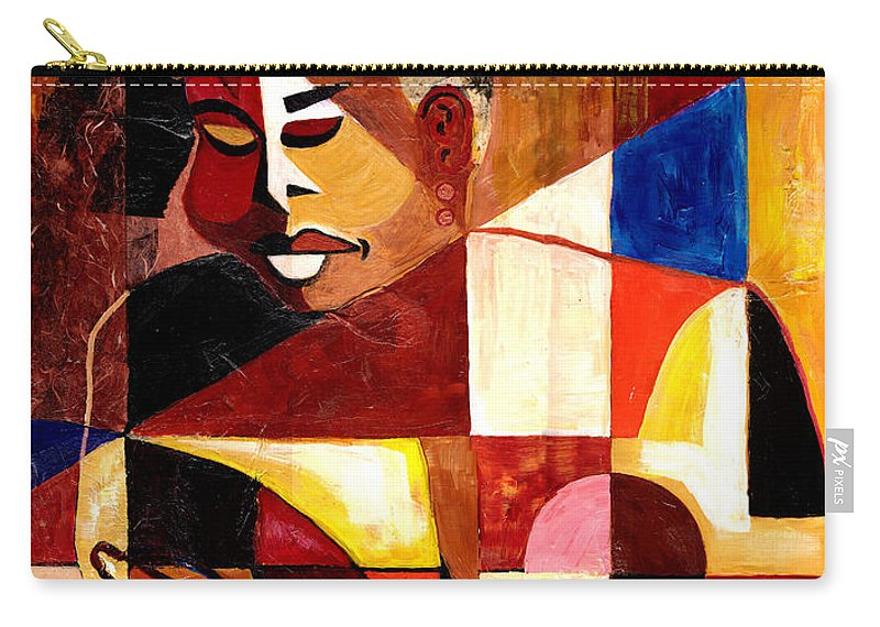 Everett Spruill Carry-all Pouch featuring the painting The Matriarch - Take 2 by Everett Spruill