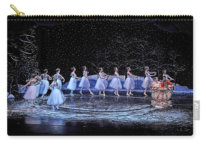 Nutcracker Carry-all Pouch featuring the photograph The Nutcracker by Bill Howard