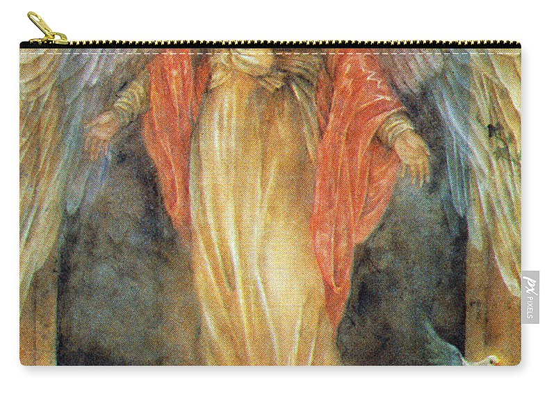 Vintage Carry-all Pouch featuring the photograph The Opening by Munir Alawi