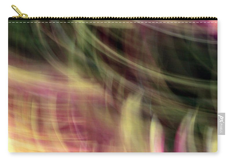 Lines Carry-all Pouch featuring the photograph The Separation by Munir Alawi