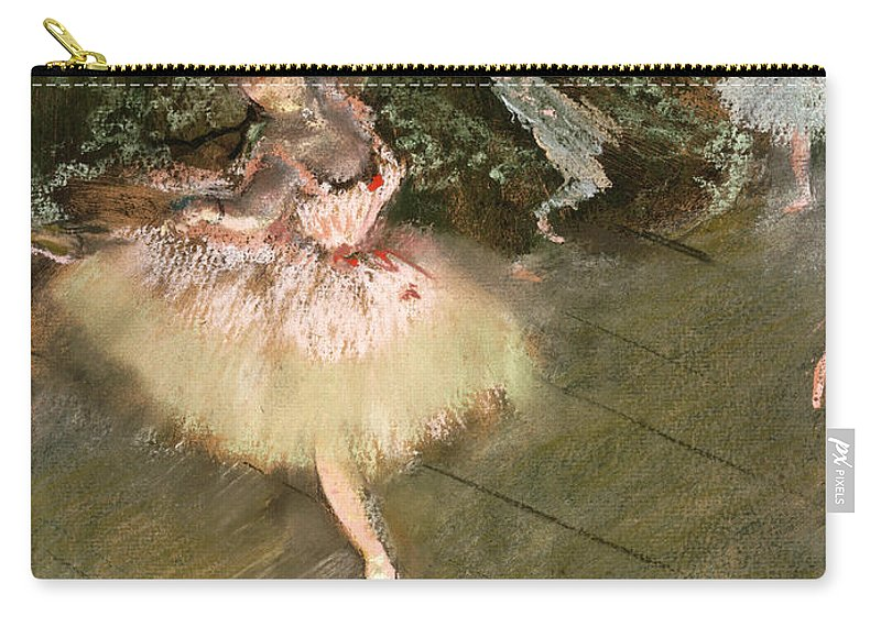 Edgar Degas Carry-all Pouch featuring the painting The Star by Edgar Degas