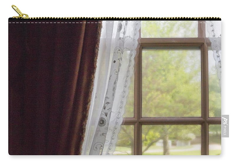 Window Carry-all Pouch featuring the photograph The View by Margie Hurwich