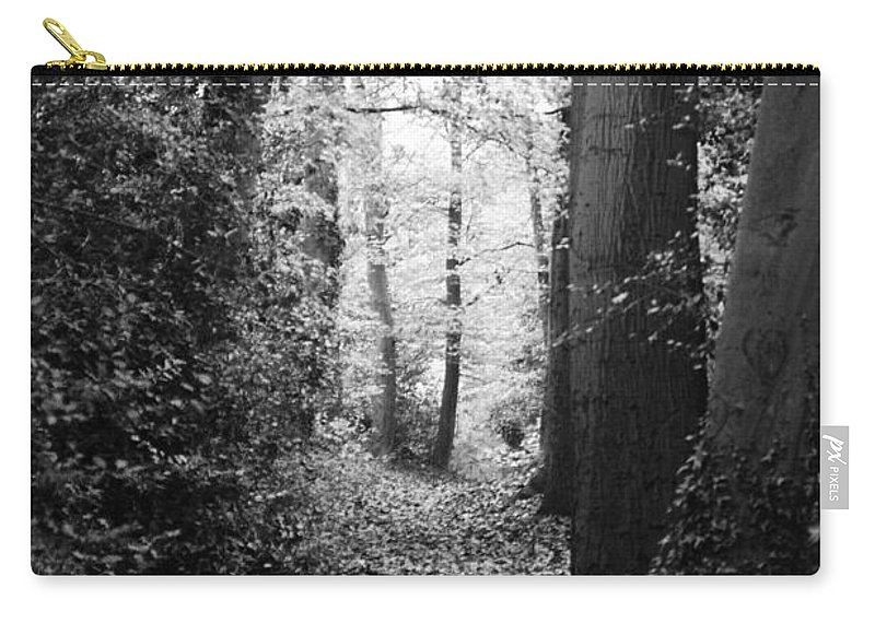 Trees. Carry-all Pouch featuring the photograph Trees by Jenny Potter