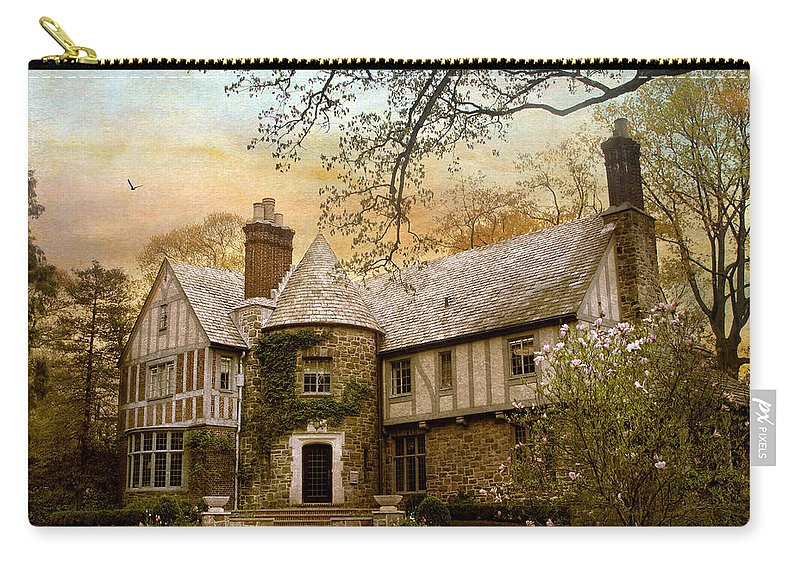 House Carry-all Pouch featuring the photograph Tudor Style by Jessica Jenney