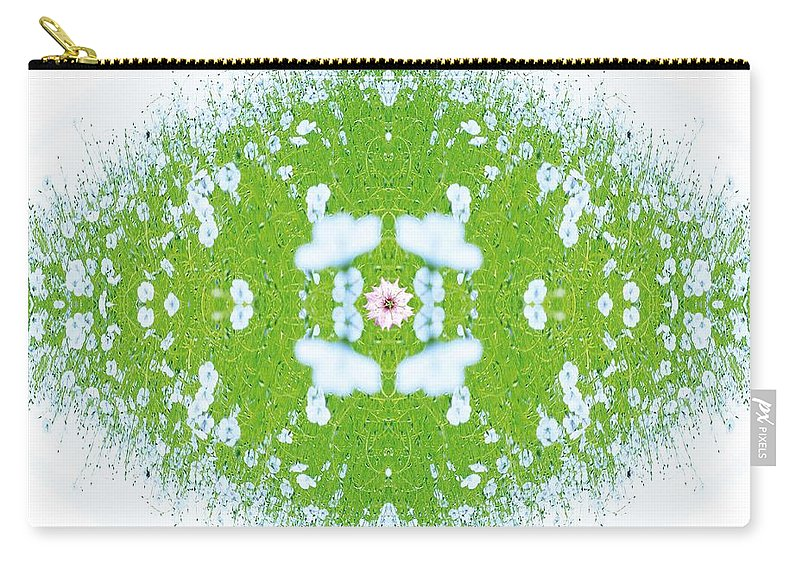 Kaleidoscopic Carry-all Pouch featuring the photograph Unnatural 37 by Giovanni Cafagna