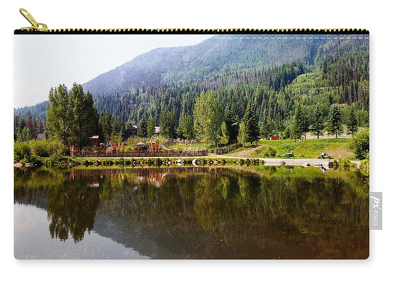 Vail Carry-all Pouch featuring the photograph Vail Reflections by Madeline Ellis