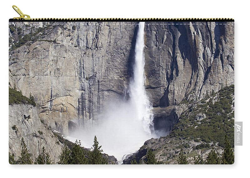 America Carry-all Pouch featuring the photograph Yosemite Falls by B Christopher