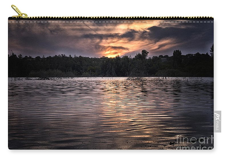 Autumn Carry-all Pouch featuring the photograph zen by Stelios Kleanthous