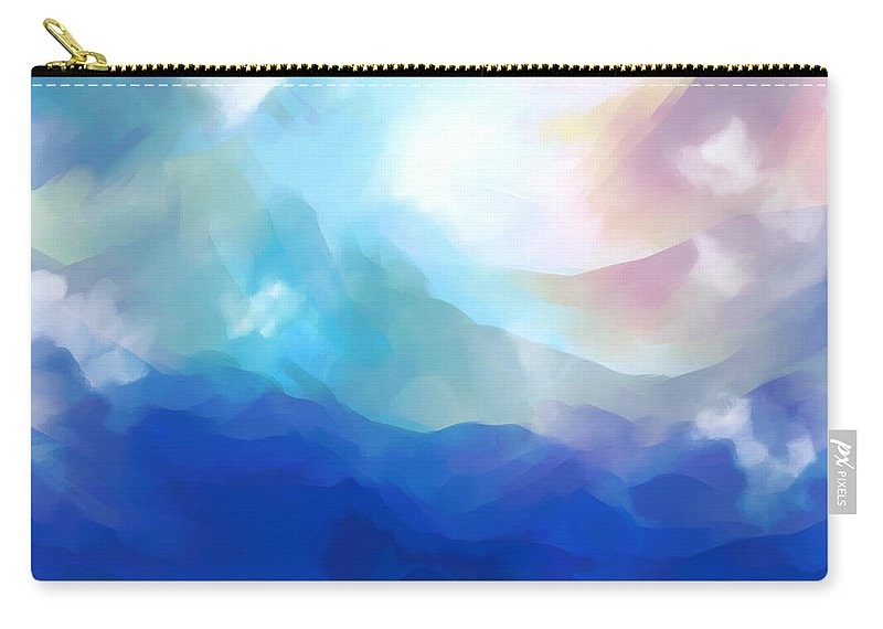 Carry-all Pouch featuring the digital art 2001021 by Studio Pixelskizm