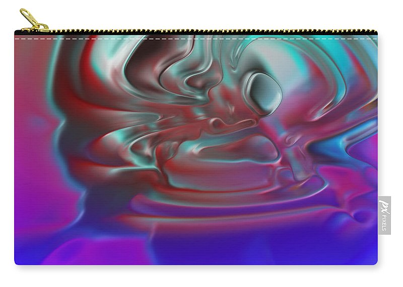 Carry-all Pouch featuring the digital art 2001047 by Studio Pixelskizm