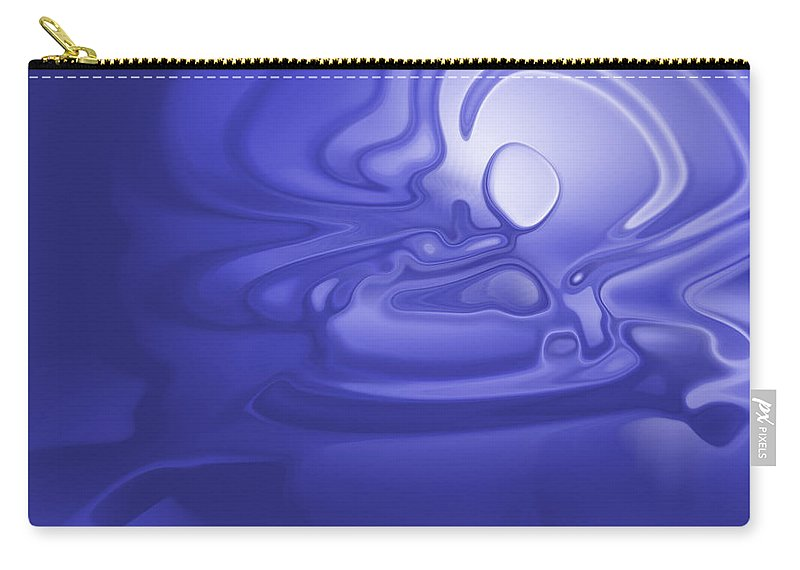 Carry-all Pouch featuring the digital art 2001058 by Studio Pixelskizm