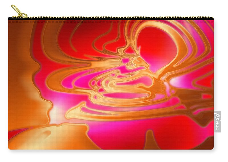 Carry-all Pouch featuring the digital art 2001060 by Studio Pixelskizm