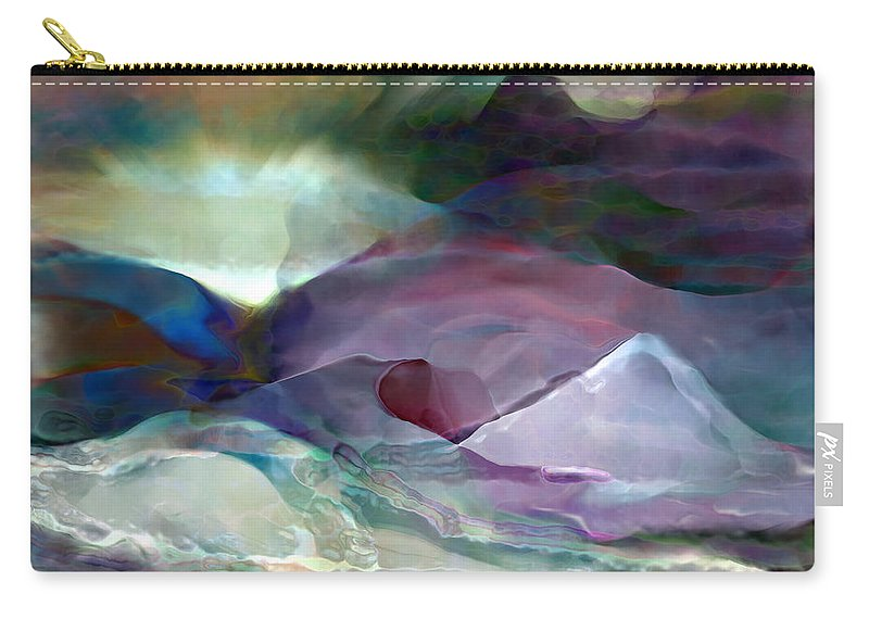 Carry-all Pouch featuring the digital art 2002039 by Studio Pixelskizm
