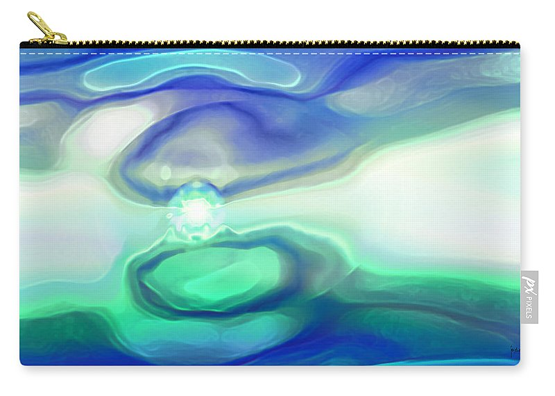 Carry-all Pouch featuring the digital art 2002045 by Studio Pixelskizm