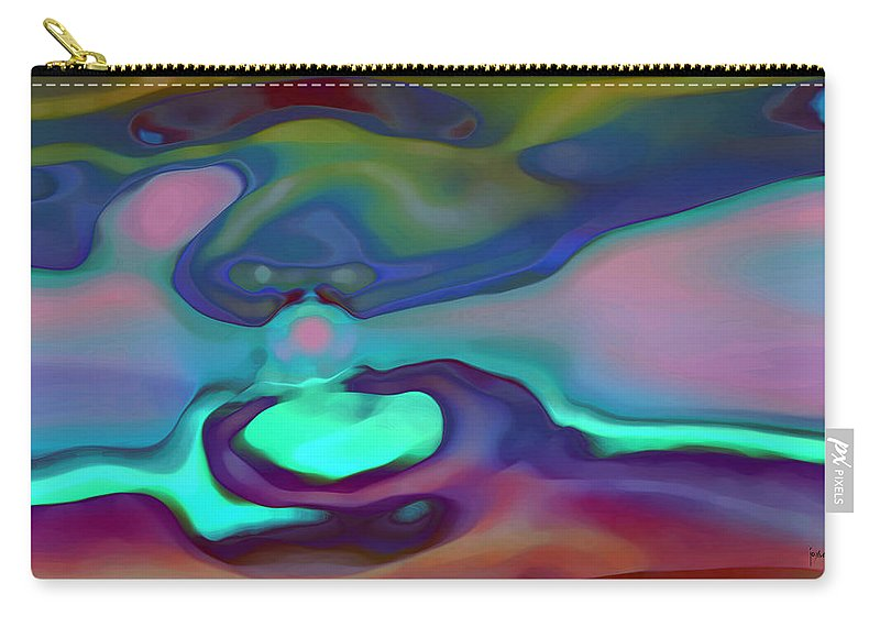 Carry-all Pouch featuring the digital art 2002050 by Studio Pixelskizm
