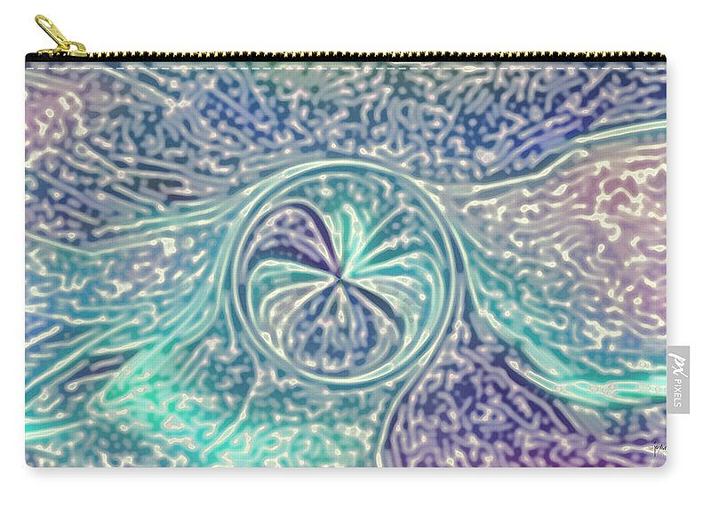 Carry-all Pouch featuring the digital art 2002069 by Studio Pixelskizm