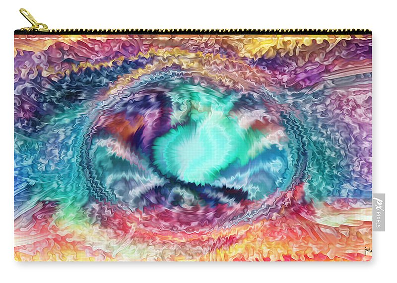 Carry-all Pouch featuring the digital art 2002082 by Studio Pixelskizm