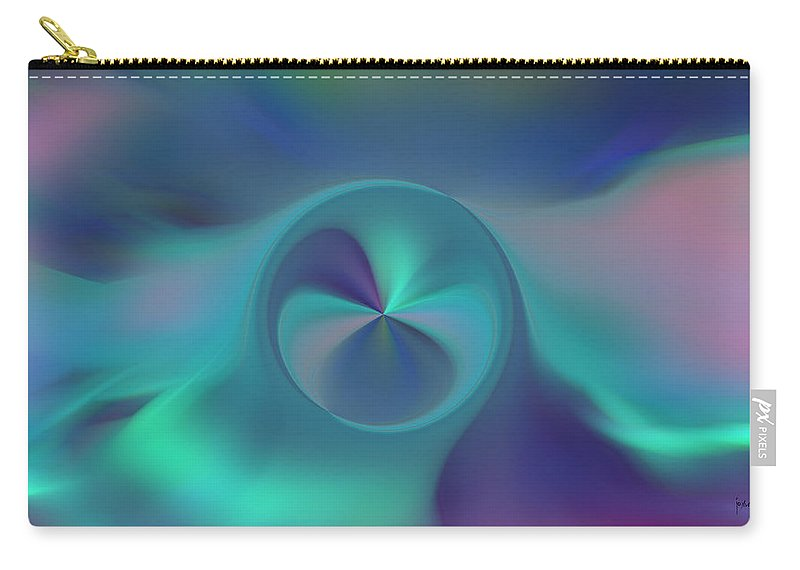 Carry-all Pouch featuring the digital art 2002093 by Studio Pixelskizm