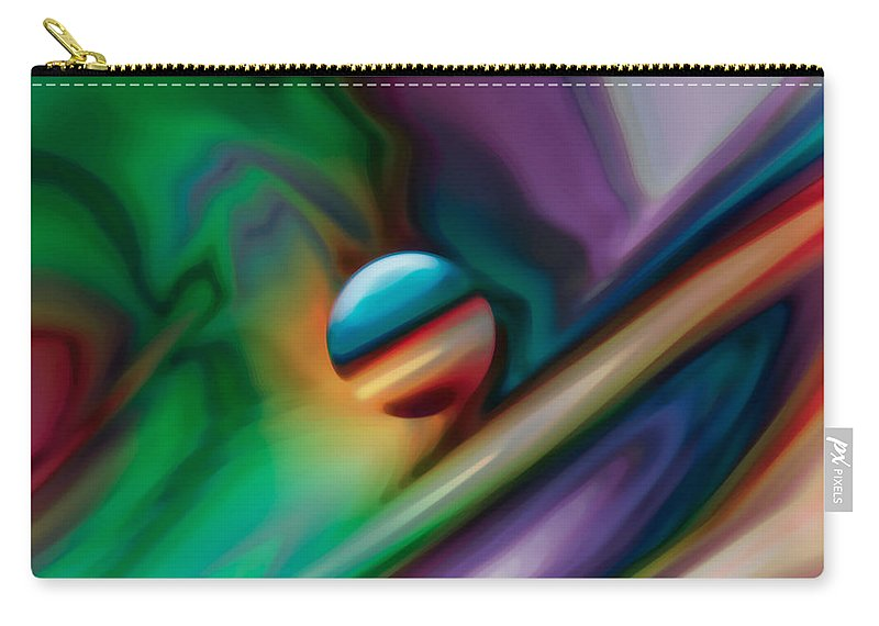 Carry-all Pouch featuring the digital art 2003011 by Studio Pixelskizm
