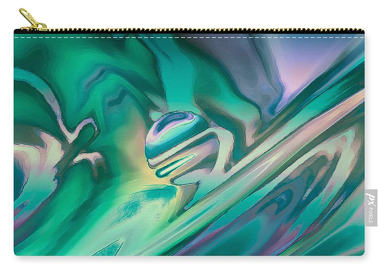 Carry-all Pouch featuring the digital art 2003015 by Studio Pixelskizm