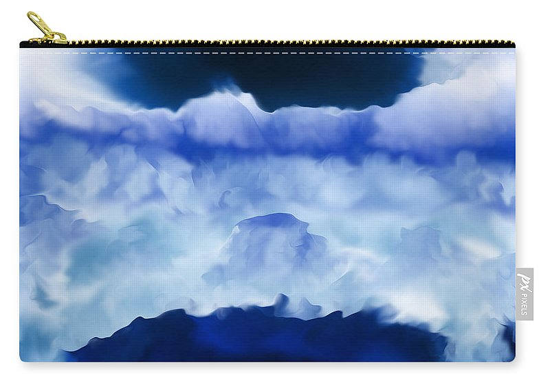 Carry-all Pouch featuring the digital art 2003053 by Studio Pixelskizm