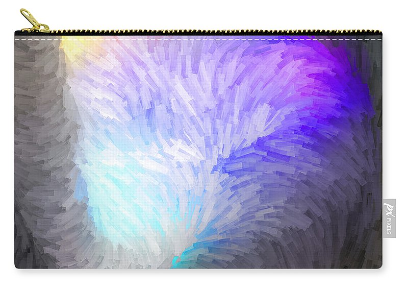 Carry-all Pouch featuring the digital art 2003074 by Studio Pixelskizm