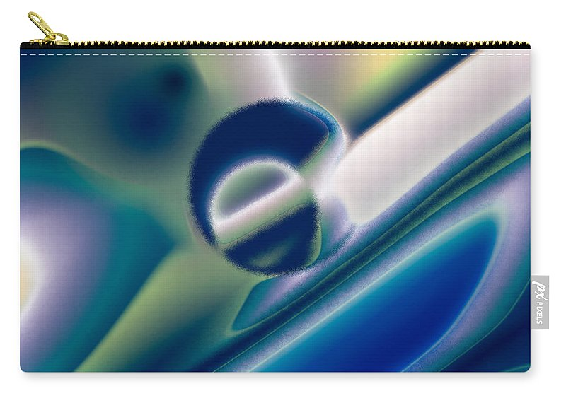 Carry-all Pouch featuring the digital art 2003129 by Studio Pixelskizm