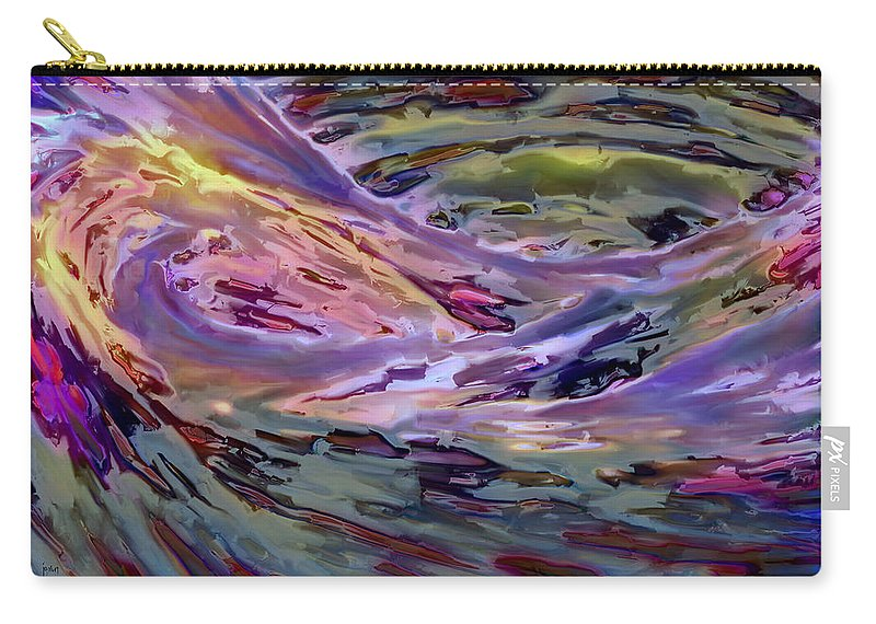 Carry-all Pouch featuring the digital art 2011111902 by Studio Pixelskizm