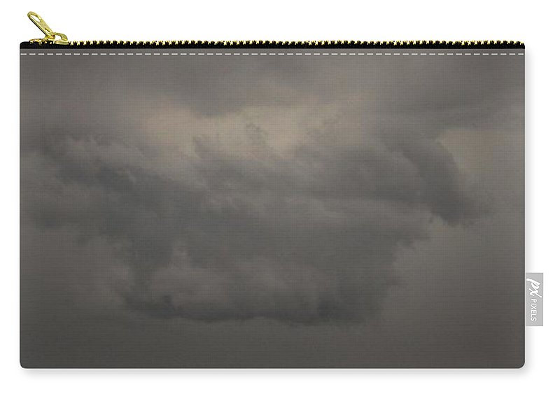 Stormscape Carry-all Pouch featuring the photograph Let The Storm Season Begin by NebraskaSC