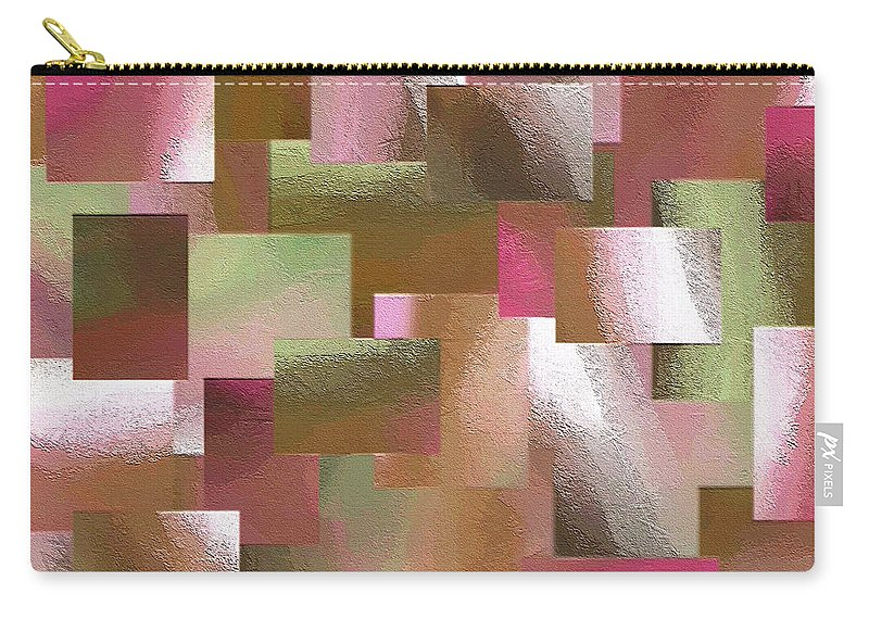 Abstract Carry-all Pouch featuring the painting 230a by Ely Arsha