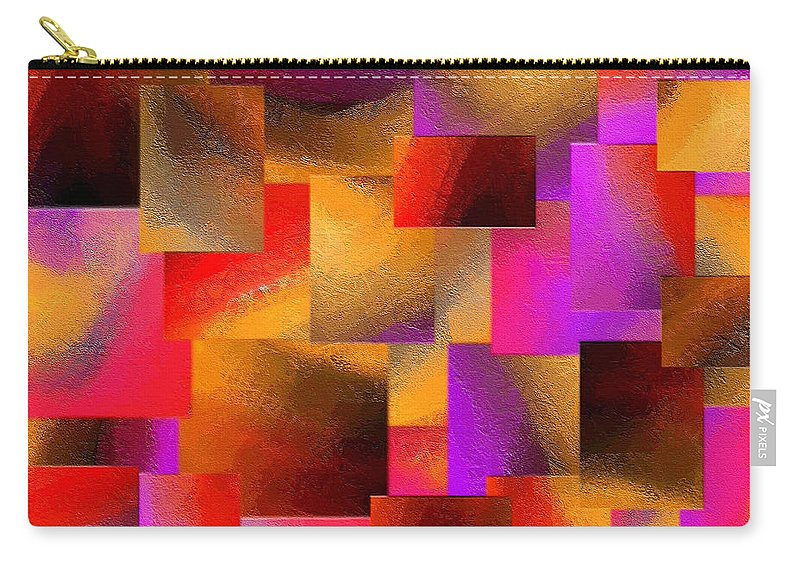 Abstract Carry-all Pouch featuring the painting 231a by Ely Arsha