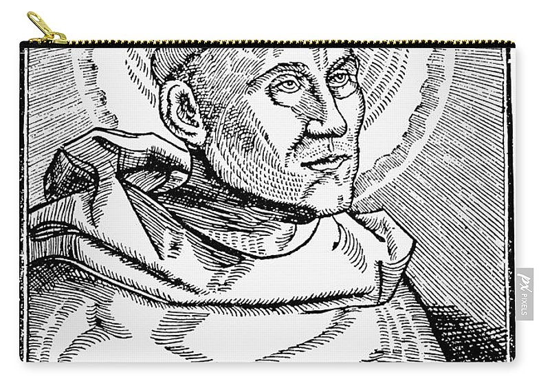 1521 Carry-all Pouch featuring the photograph Martin Luther (1483-1546) by Granger