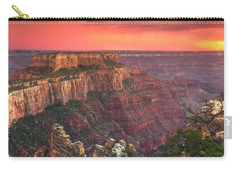 Tranquility Carry-all Pouch featuring the photograph Grand Canyon National Park by Michele Falzone