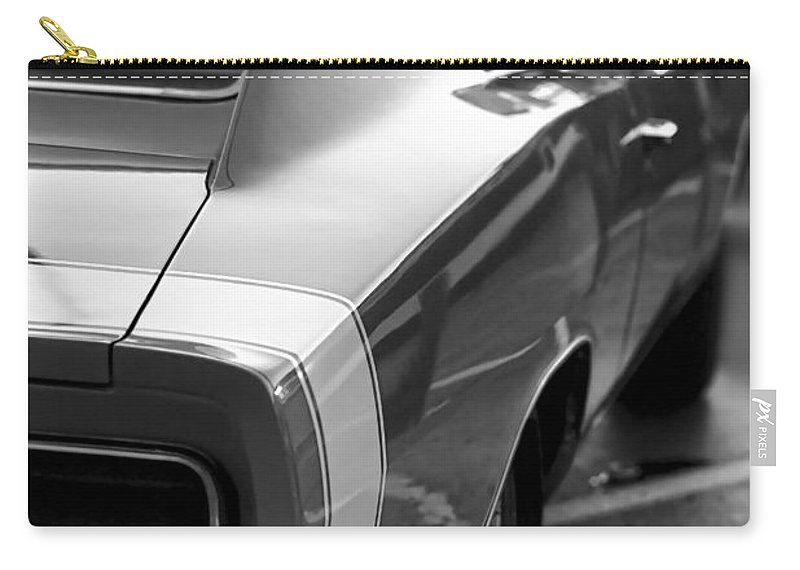 1968 Carry-all Pouch featuring the photograph 1969 Dodge Charger by Gordon Dean II