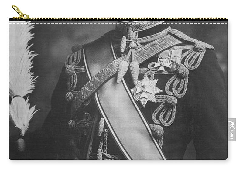 19th Century Carry-all Pouch featuring the photograph Arthur, Duke Of Connaught (1850-1942) by Granger