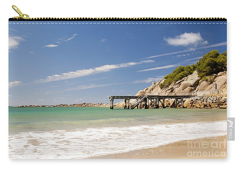 South Australia Carry-all Pouch featuring the photograph Australian Beach by Tim Hester