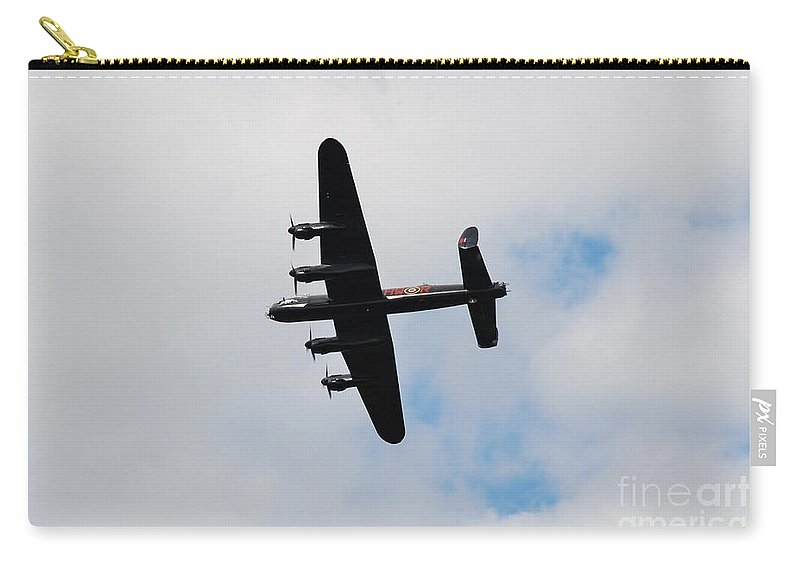 Avro Carry-all Pouch featuring the photograph Battle Of Britain Memorial Flight by David Fowler