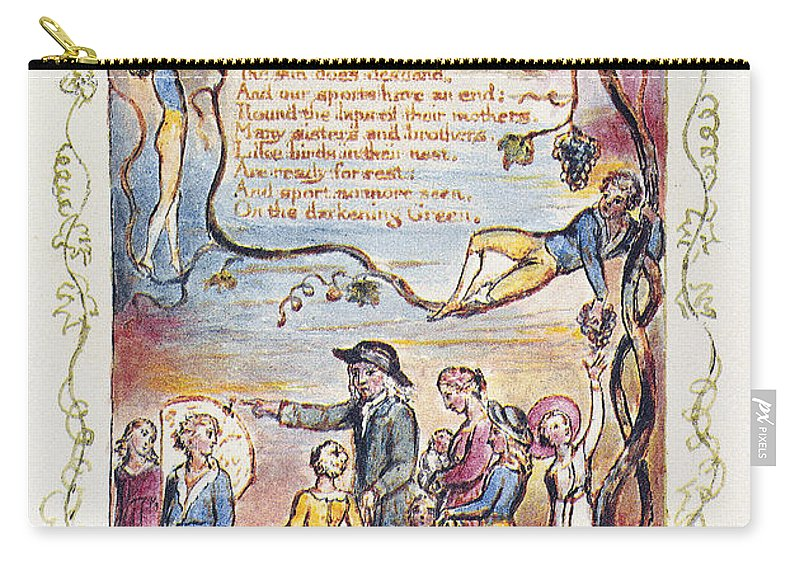 1789 Carry-all Pouch featuring the photograph Blake: Songs Of Innocence by Granger