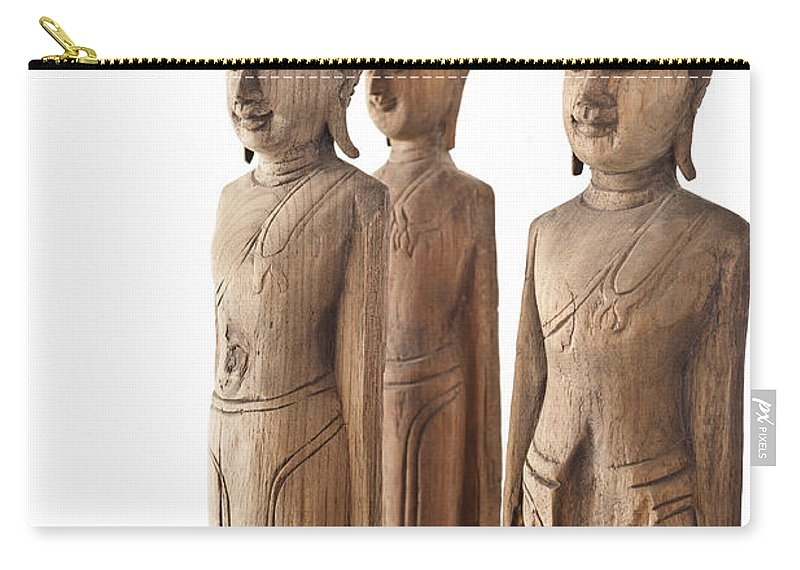 Day Carry-all Pouch featuring the photograph Buddha Figurine by U Schade