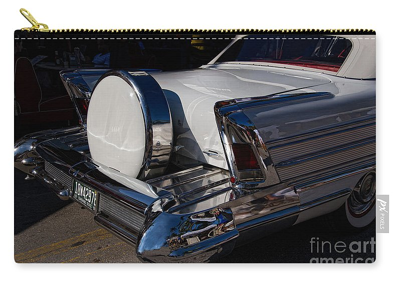 Buick Carry-all Pouch featuring the digital art Buick by Carol Ailles