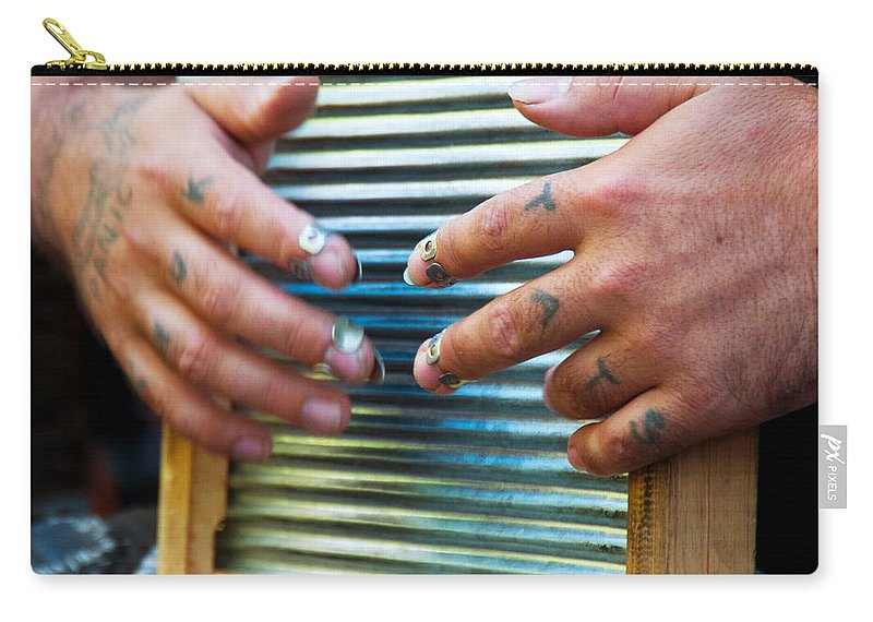 Denver Carry-all Pouch featuring the photograph Knuk Tats - Denver by Lee Roth