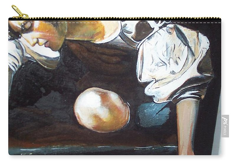 Carry-all Pouch featuring the painting Detail by Jude Darrien