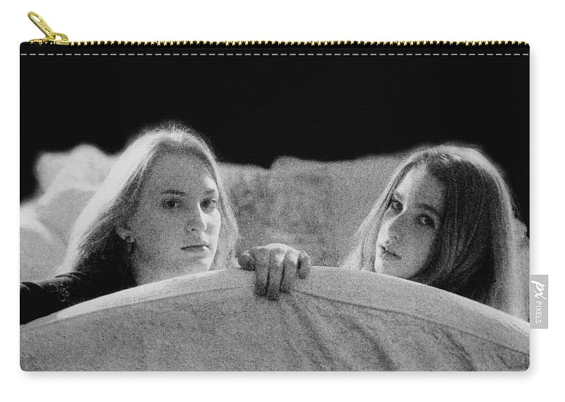 Friend Carry-all Pouch featuring the photograph Friends by Madeline Ellis