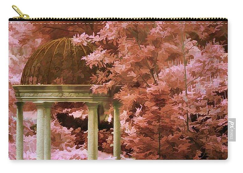 Gazebo Carry-all Pouch featuring the photograph Gazebo by Joyce Baldassarre